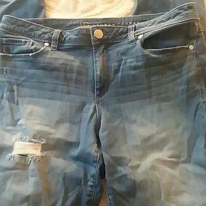 LC Distress Jeans Size 12